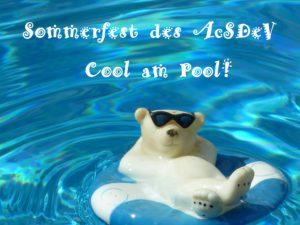 Sommerfest des AcSDeV- Cool am Pool! @ Gastgeber: Michael Hofmann | Hadamar | Hessen | Deutschland