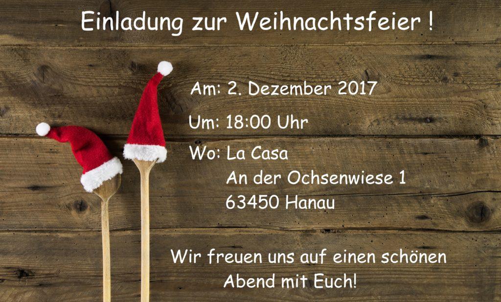 Weihnachtsfeier 2017 @ La Casa | Hanau | Hessen | Deutschland
